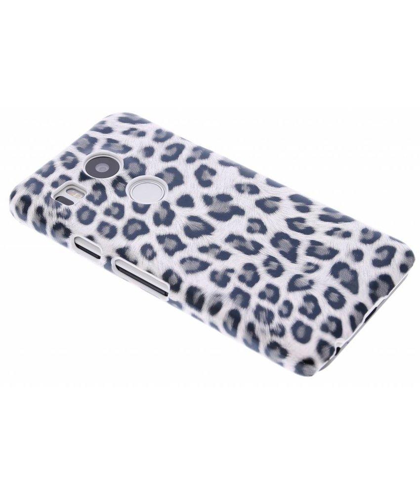 Luipaard design hardcase hoesje LG Nexus 5X
