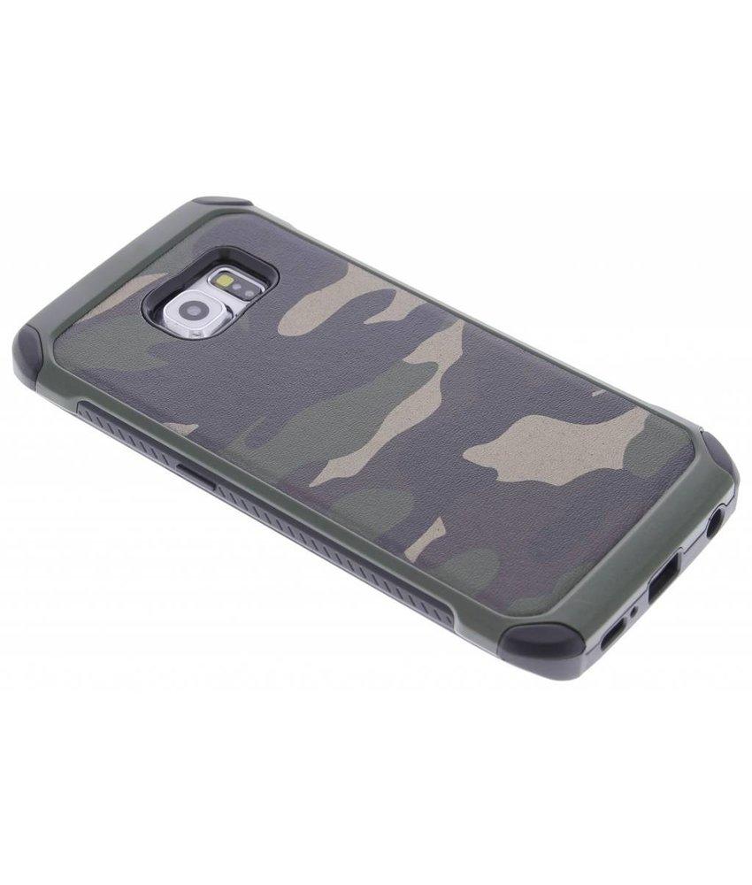 Army defender hardcase hoesje Samsung Galaxy S6 Edge