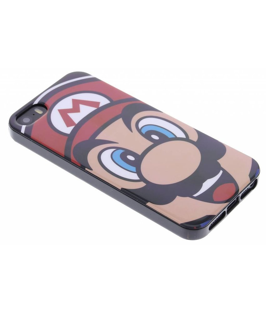 Super Mario Flexible TPU Case iPhone 5 / 5s / SE - Mario