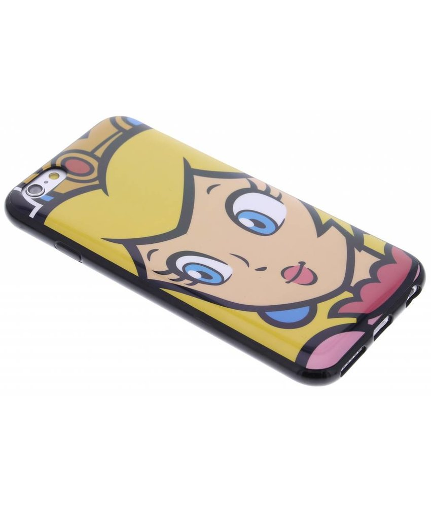 Super Mario Flexible TPU Case iPhone 6 / 6s - Peach