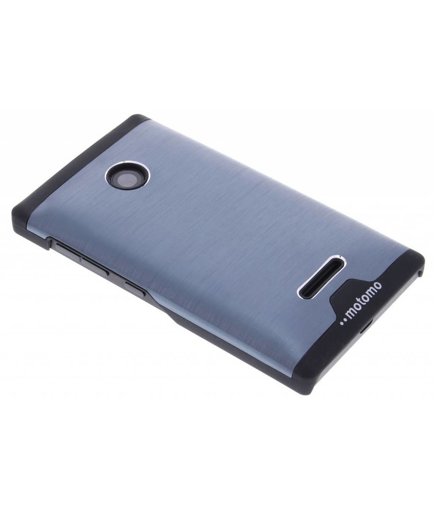 Brushed aluminium hardcase Microsoft Lumia 435 / 532