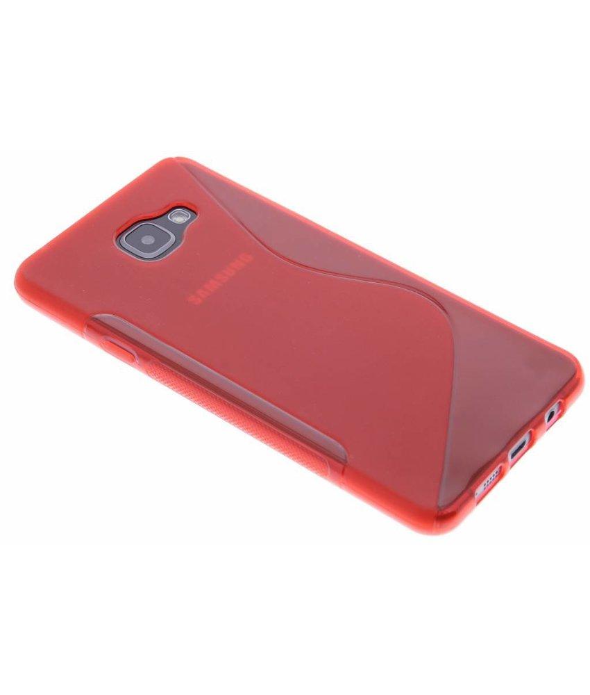 Rood S-line TPU hoesje Samsung Galaxy A7 (2016)