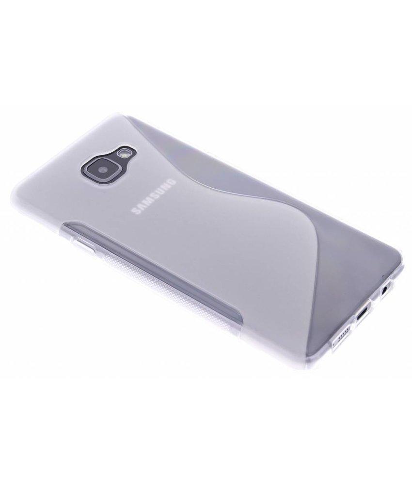 Transparant S-line TPU hoesje Samsung Galaxy A7 (2016)