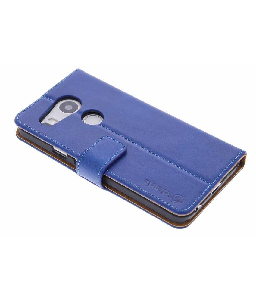 Selencia Luxe lederen Booktype LG Nexus 5X – Blauw