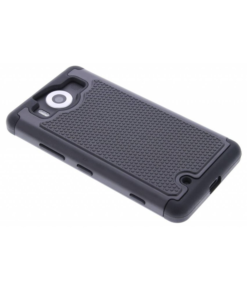 Zwart ruggedized case Microsoft Lumia 950