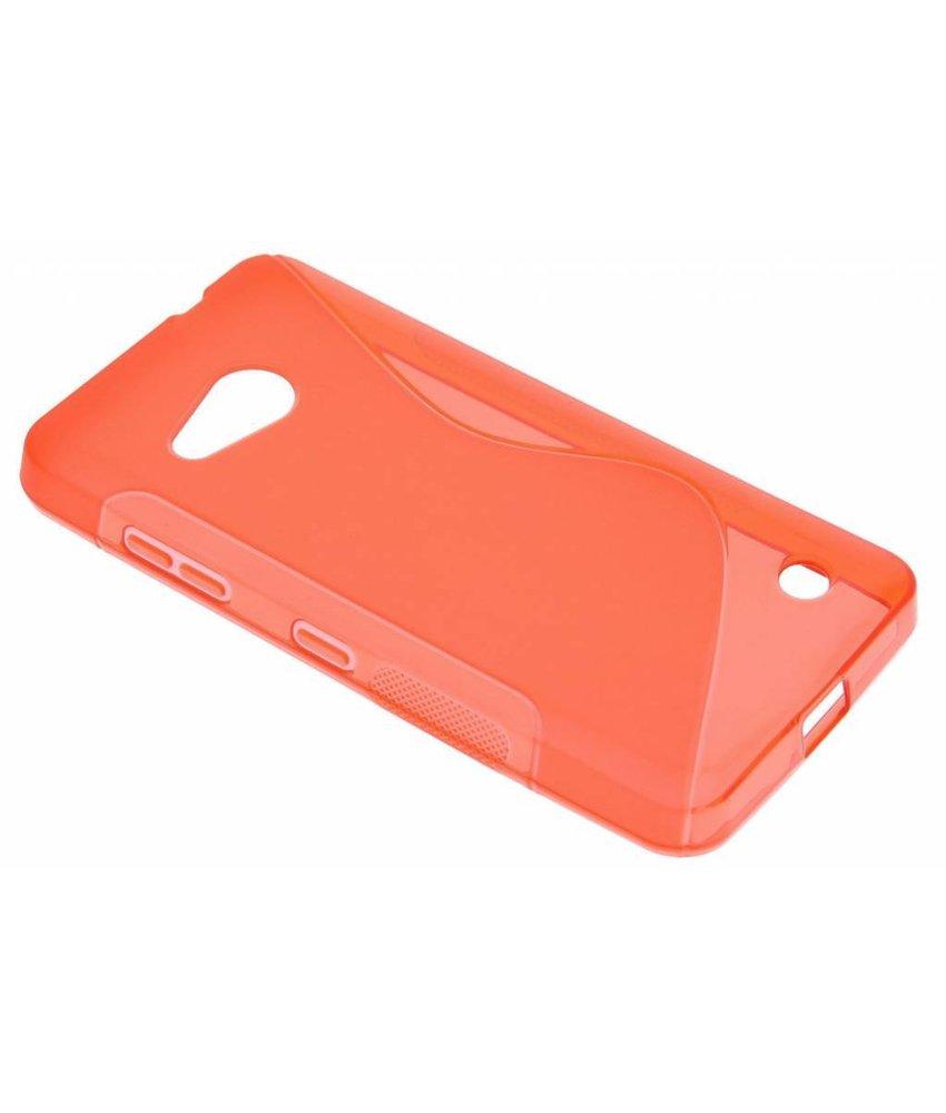 Rood S-line TPU hoesje Microsoft Lumia 550