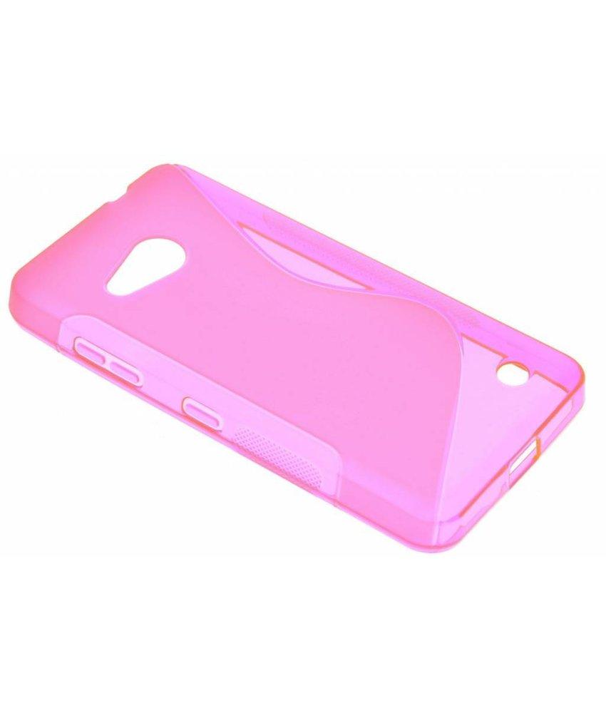 Rosé S-line TPU hoesje Microsoft Lumia 550