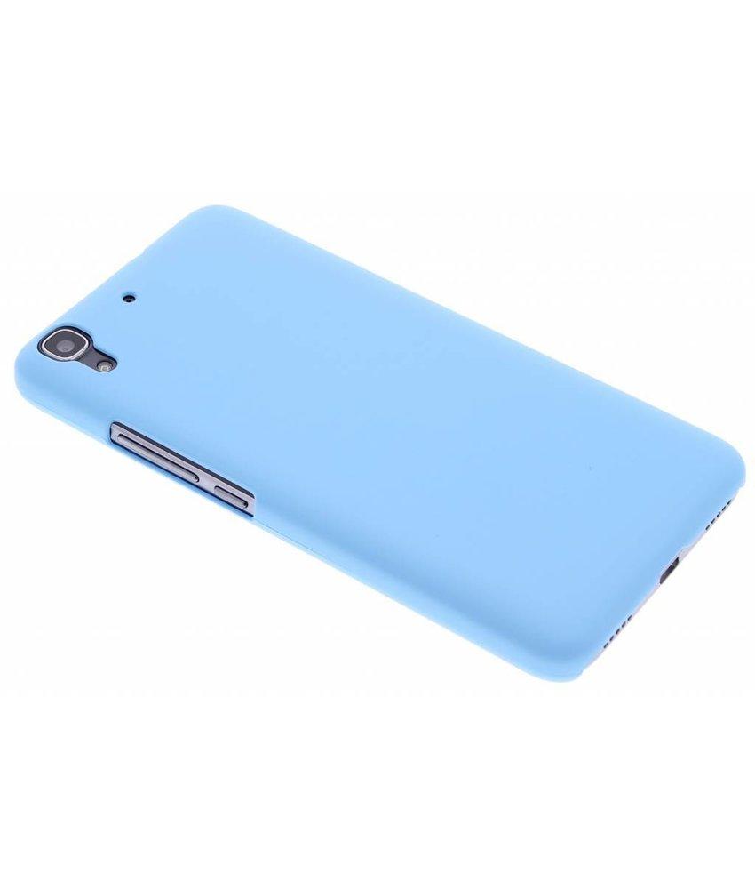 Turquoise effen hardcase hoesje Huawei Y6