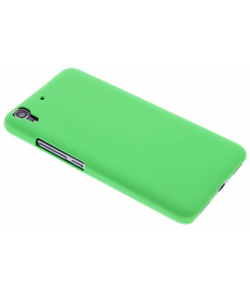 Groen effen hardcase hoesje Huawei Y6