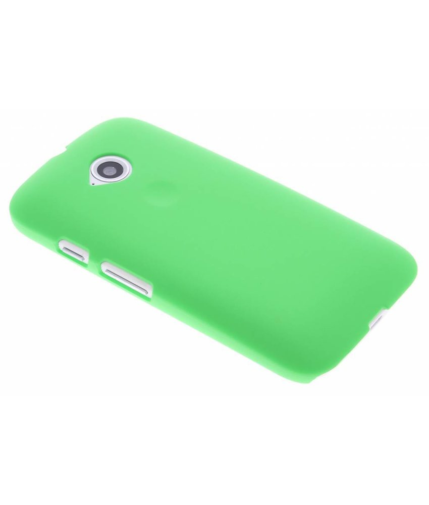 Groen effen hardcase Motorola Moto E 2015