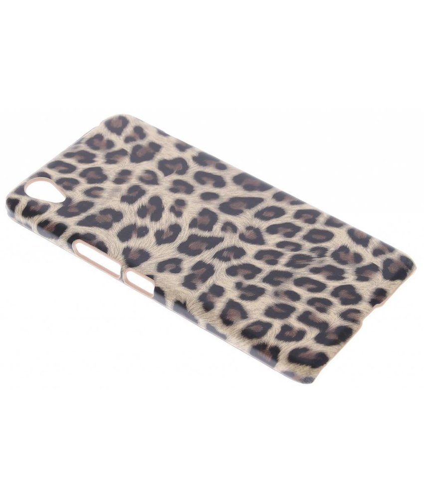 Luipaard design hardcase hoesje OnePlus X