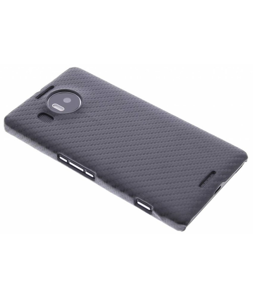 Carbon look hardcase hoesje Microsoft Lumia 950 XL