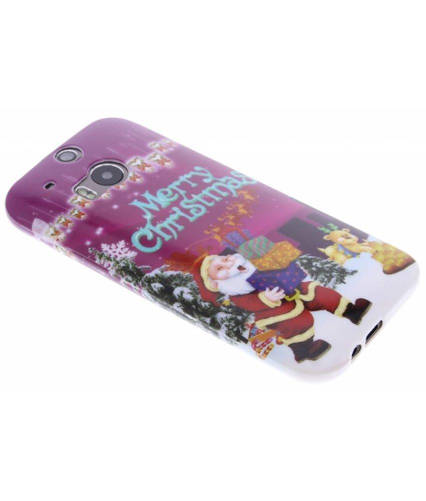 Christmas Edition TPU hoesje HTC One M8 / M8s
