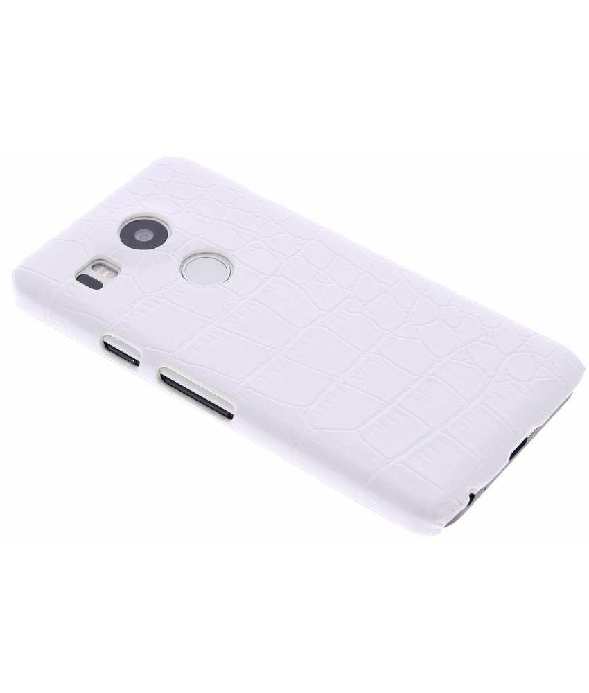 Krokodil design hardcase hoesje LG Nexus 5X