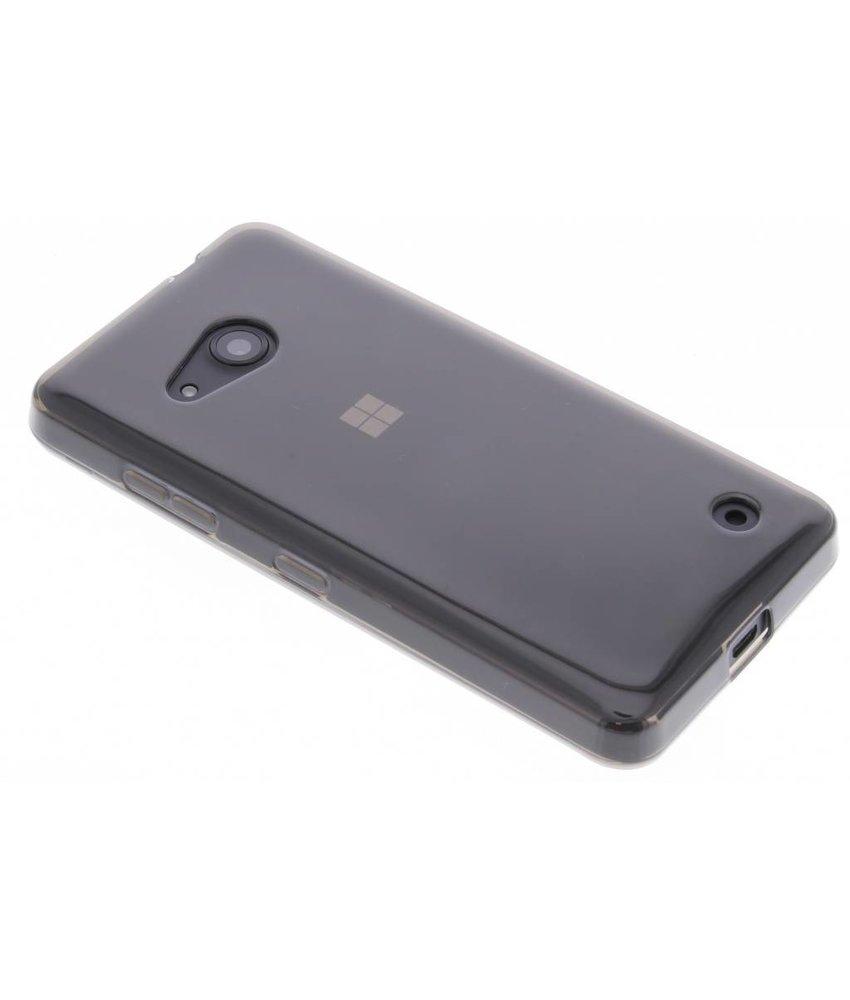 Grijs transparant gel case Microsoft Lumia 550