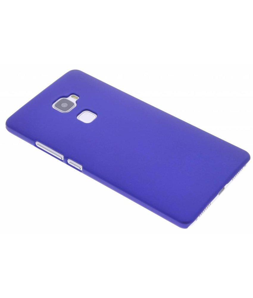 Blauw effen hardcase hoesje Huawei Mate S