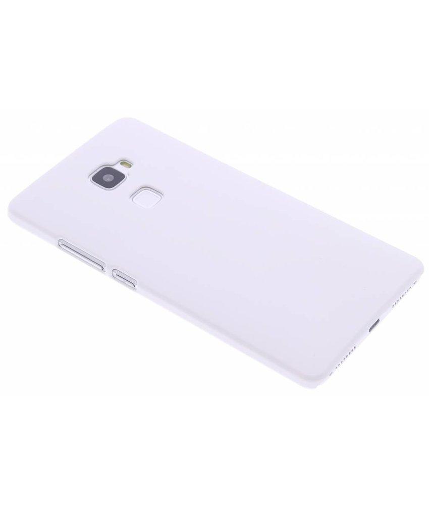 Wit effen hardcase hoesje Huawei Mate S