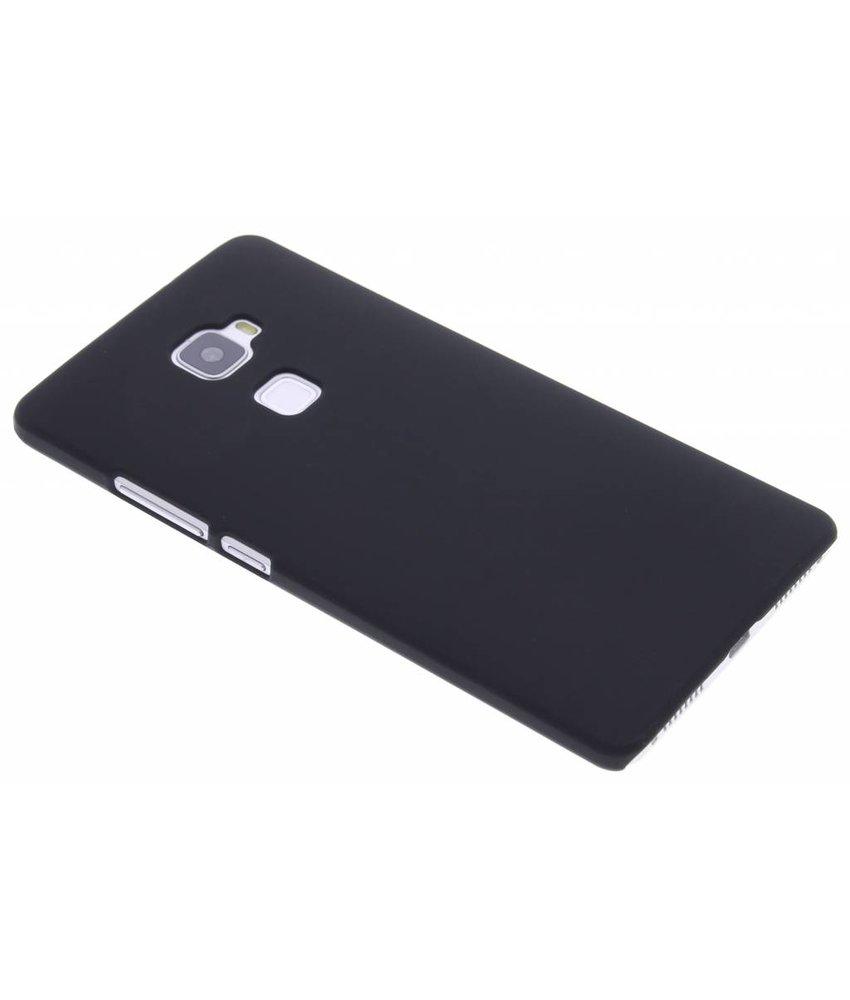 Zwart effen hardcase hoesje Huawei Mate S