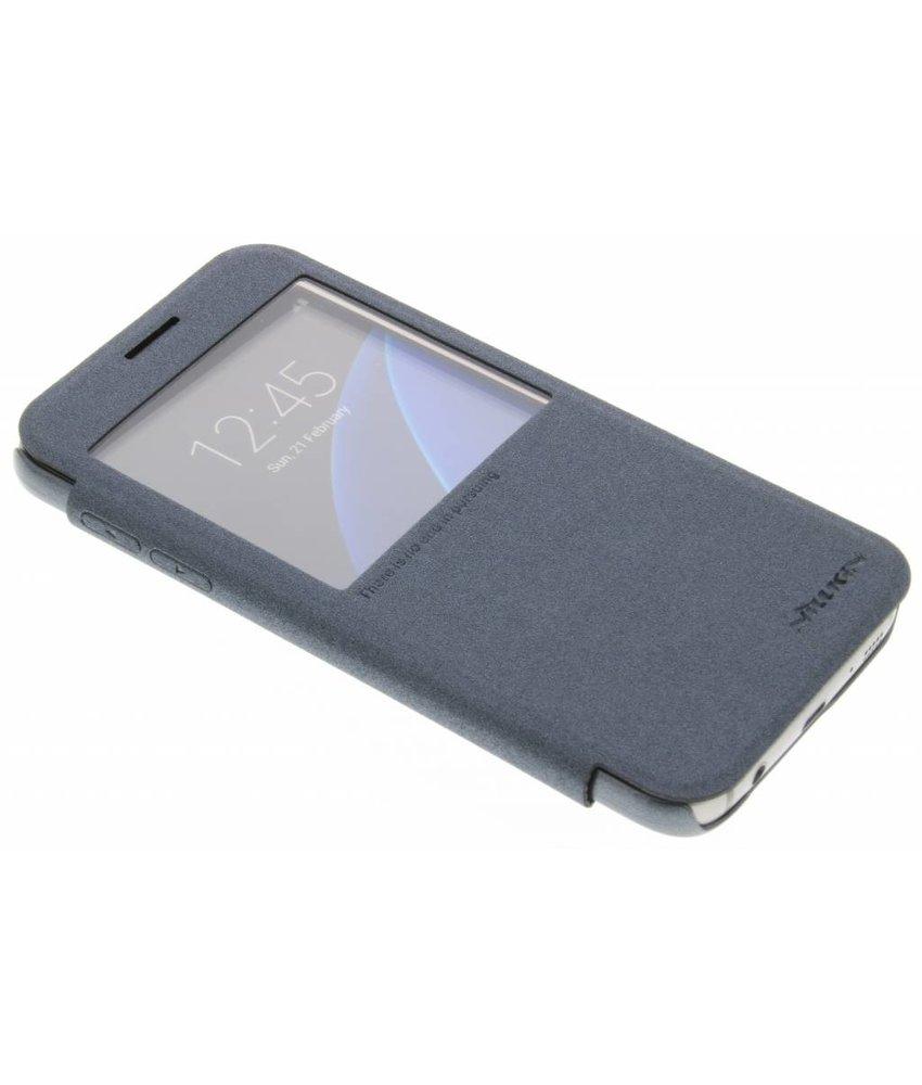 Nillkin Sparkle slim booktype hoes Samsung Galaxy S7 - Zwart