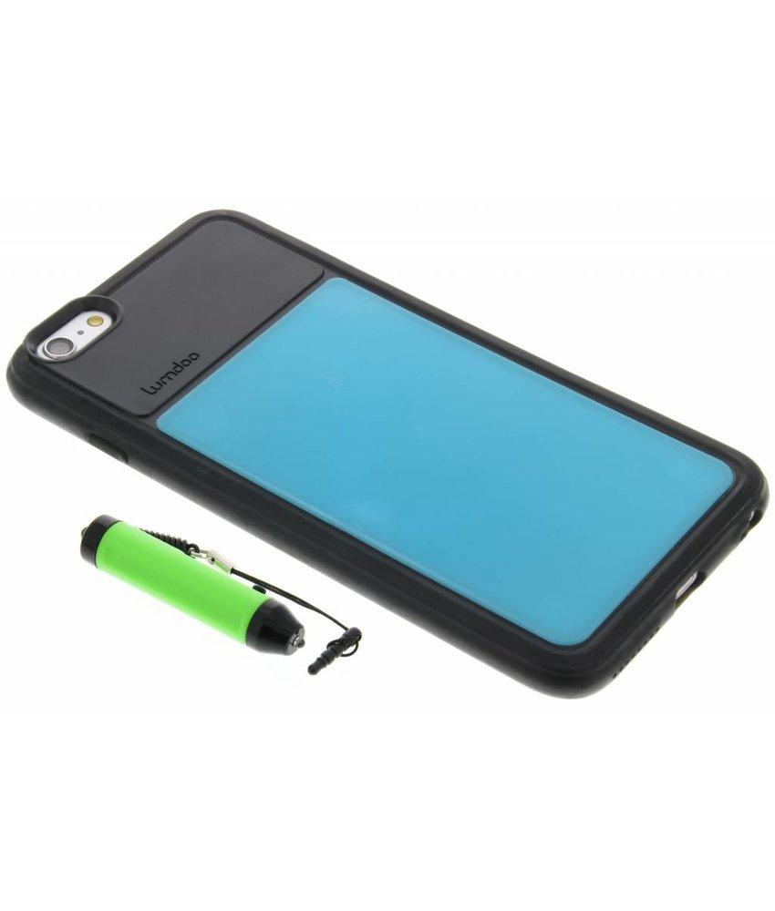 Lumdoo Duo Cover iPhone 6(s) Plus - Lichtblauw