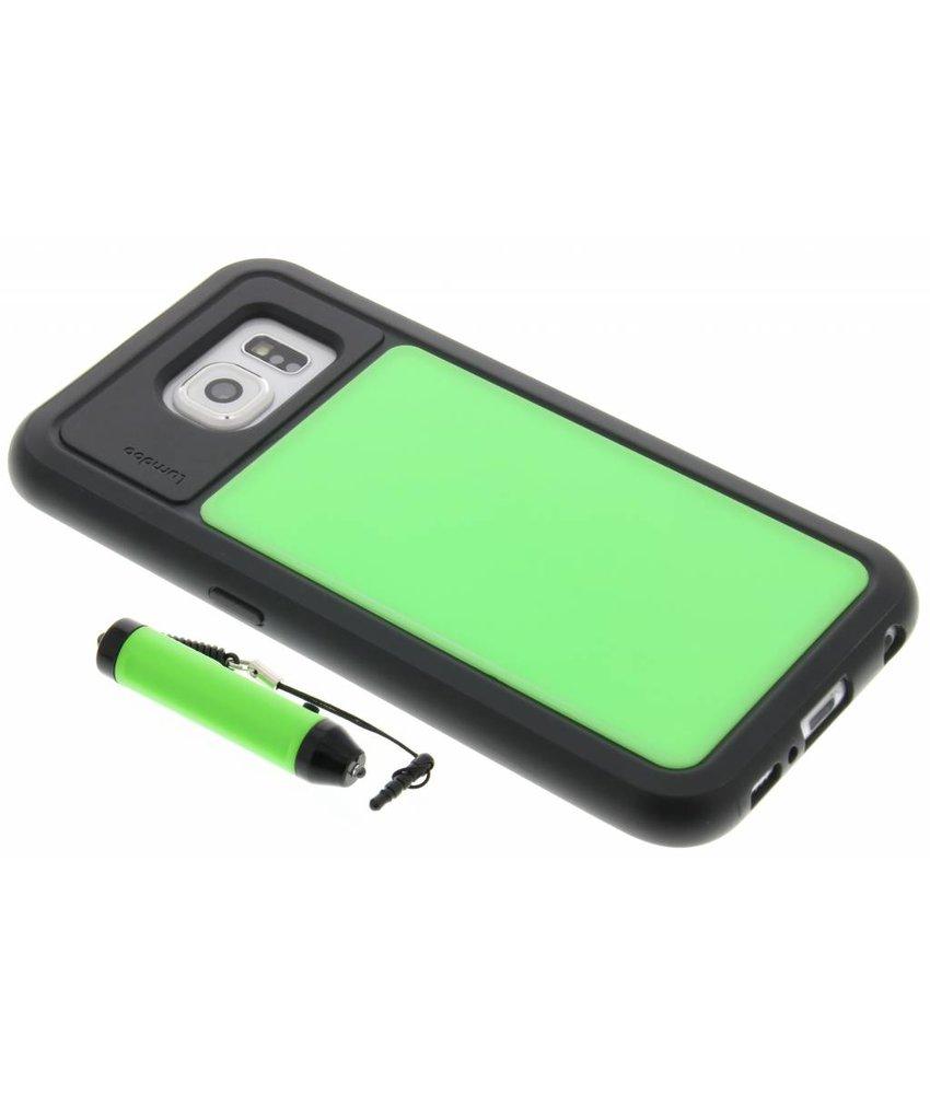 Lumdoo Duo Cover Samsung Galaxy S6 - Groen