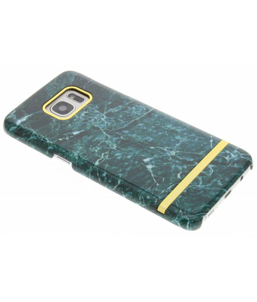 Richmond & Finch Marble Glossy Case Samsung Galaxy S7 Edge - Green Marble