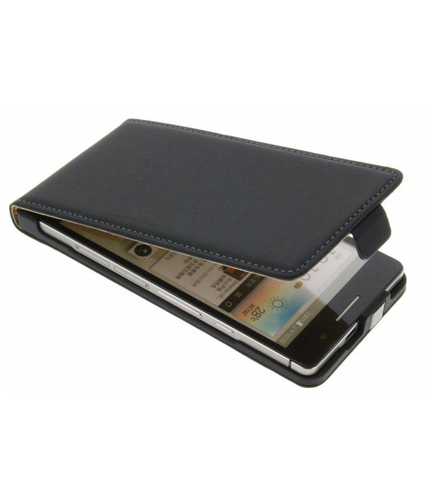 Mobiparts Premium Flipcase Huawei Ascend P6 / P6s - Black