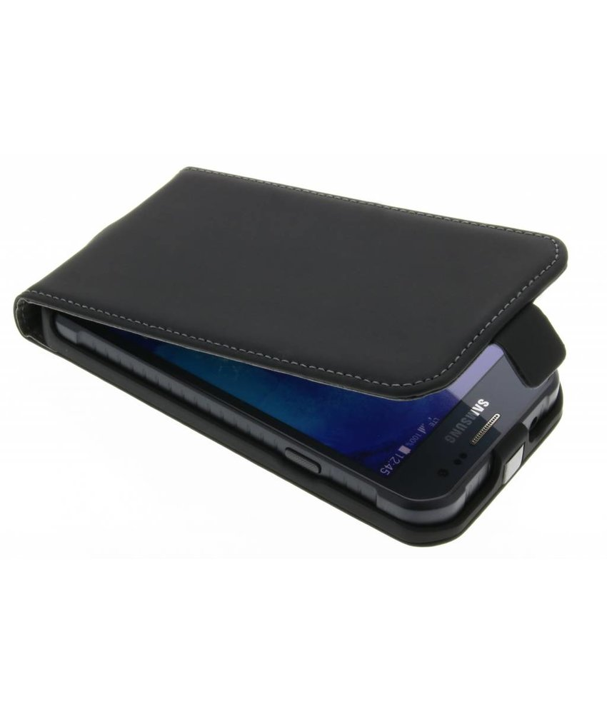 Mobiparts Essential Flip Case Galaxy Xcover 3 - Black