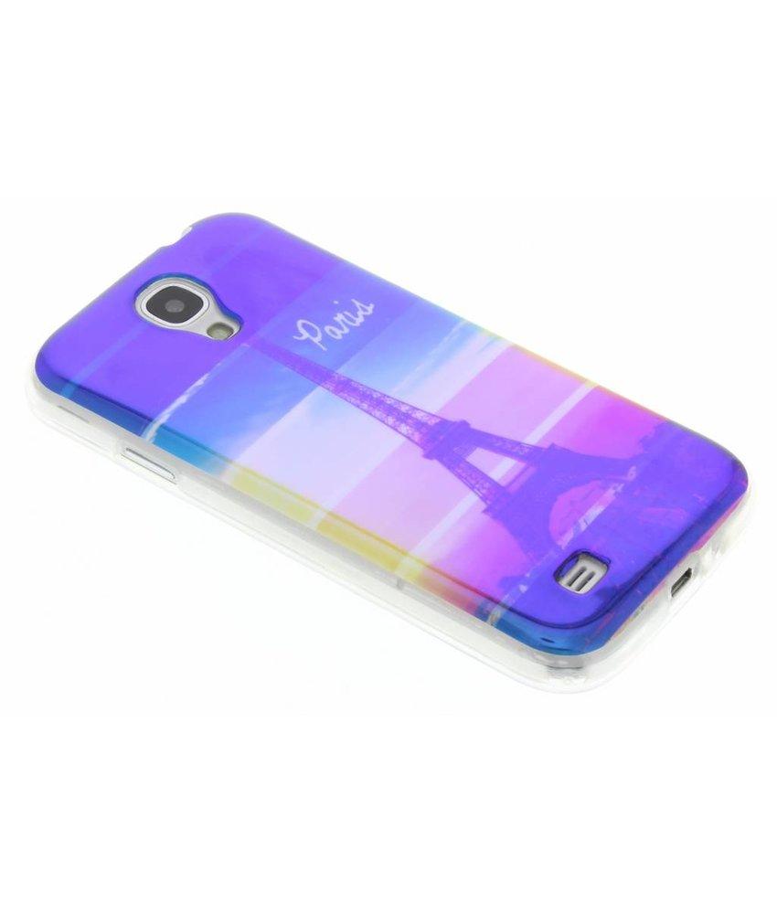 Metallic design TPU hoesje Samsung Galaxy S4