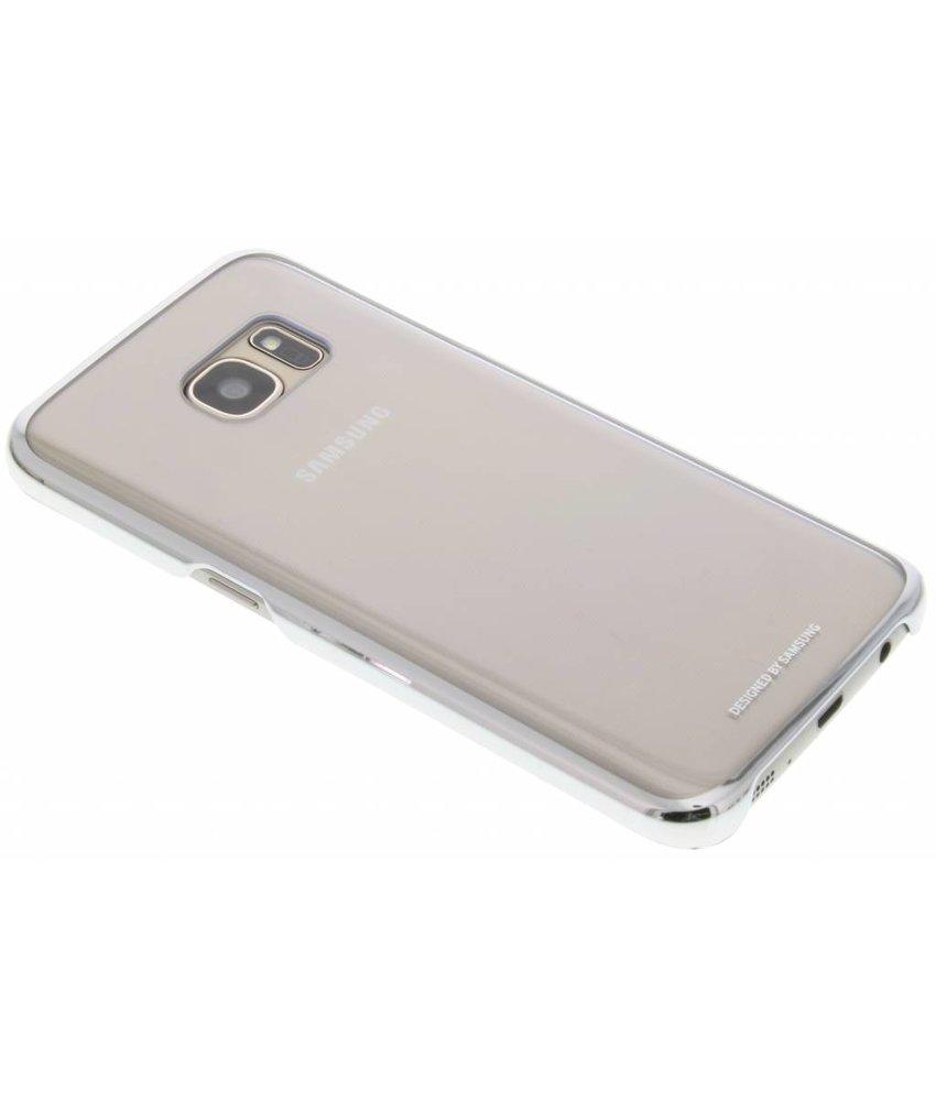 Samsung originele Clear Cover Samsung Galaxy S7 - Zilver