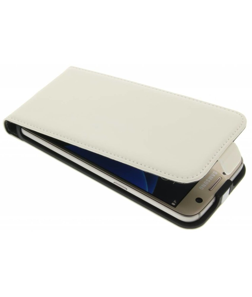 Mobiparts Premium Flipcase Samsung Galaxy S7 - White