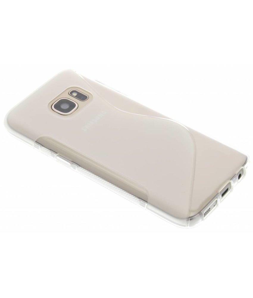 Transparant S-line TPU hoesje Samsung Galaxy S7