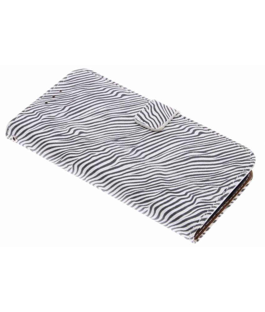 Luxe zebra booktype hoes Samsung Galaxy S7