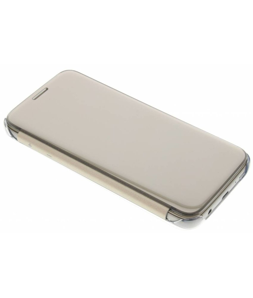 Samsung originele Clear View Cover Galaxy S7 - Goud