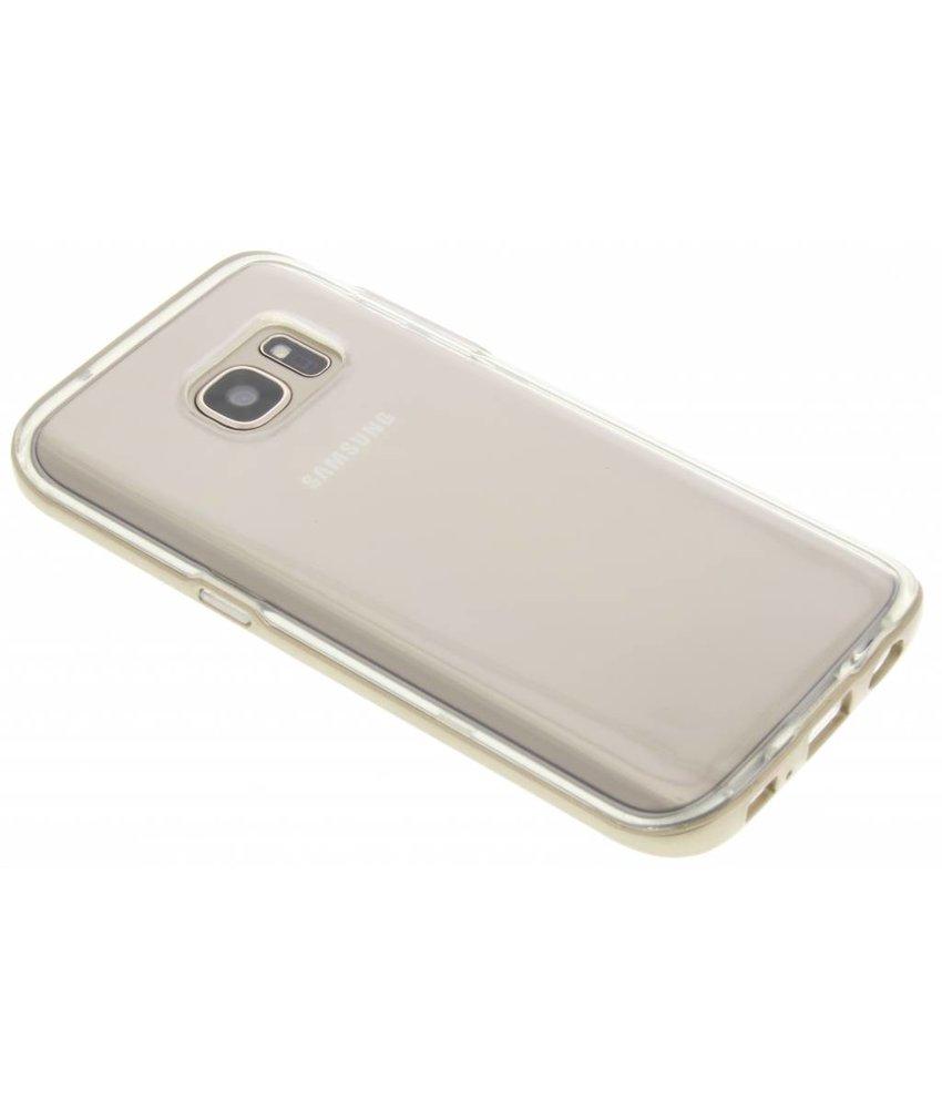 Goud bumper TPU case Samsung Galaxy S7