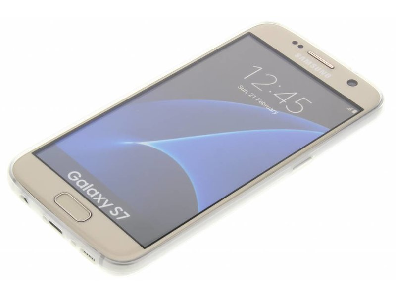 Samsung Galaxy S7 hoesje - Ultra thin transparant TPU
