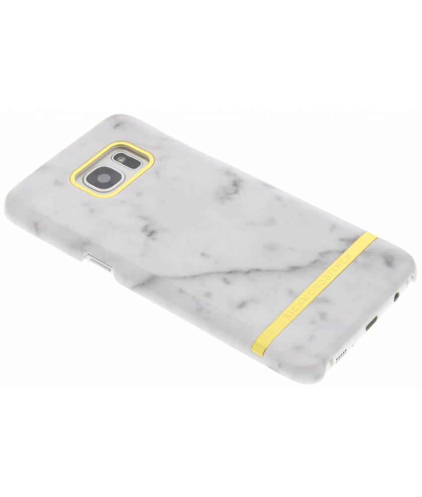 Richmond & Finch Marble Glossy Case Samsung Galaxy S7 Edge - Carrara Marble