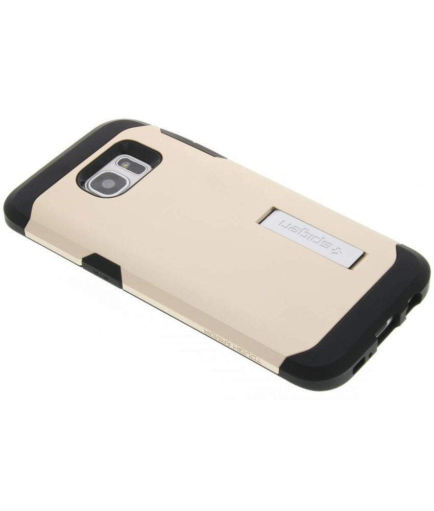Spigen Tough Armor Case Samsung Galaxy S7 Edge - Champagne Gold