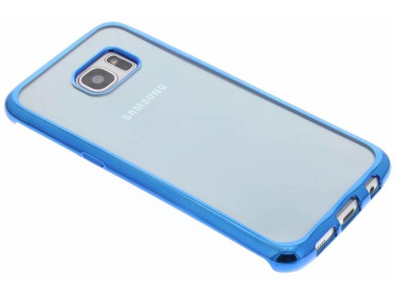 Tpu Naturellement Le Cas Pour Le Bord De Samsung Galaxy S - Bleu EM2BuNU3kO