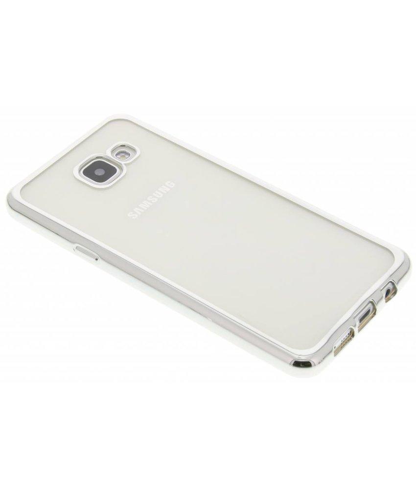 Zilver TPU hoesje met metallic rand Samsung Galaxy A5 (2016)