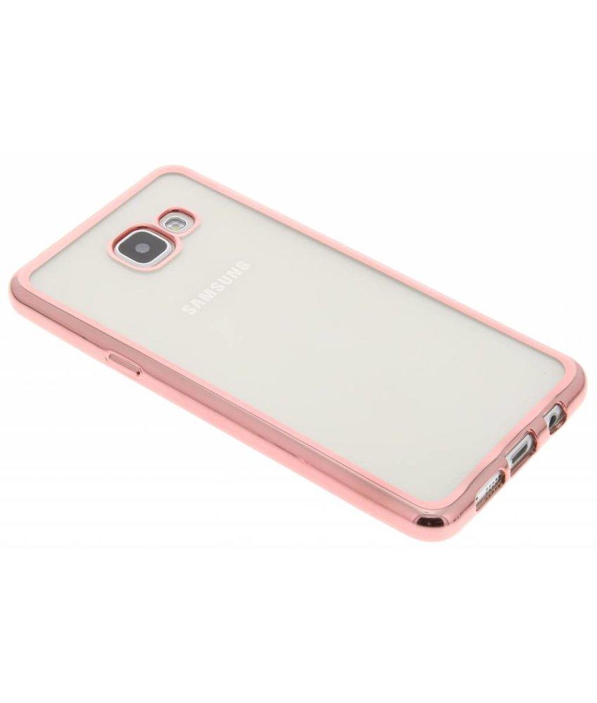 Rosé TPU hoesje met metallic rand Samsung Galaxy A5 (2016)