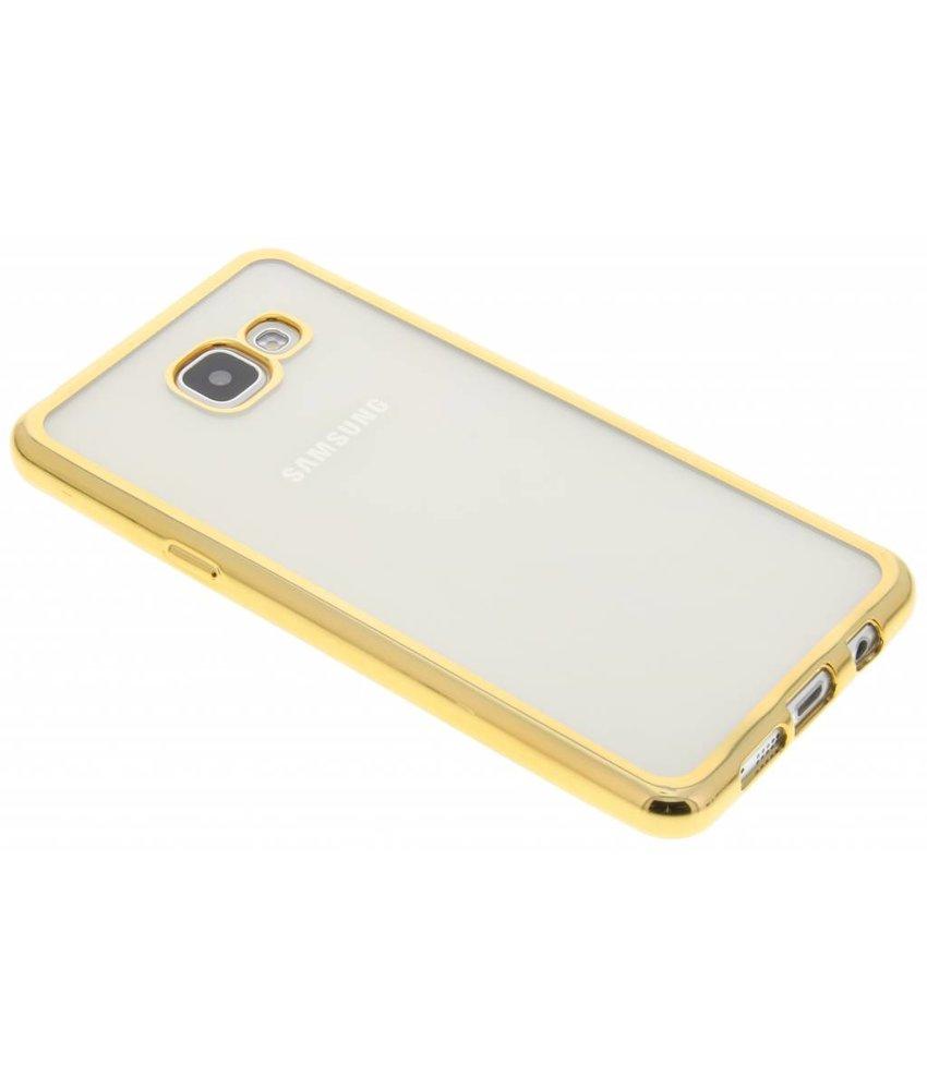 Goud TPU hoesje met metallic rand Samsung Galaxy A5 (2016)