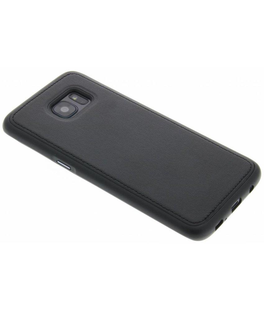Lederen TPU case Samsung Galaxy S7 Edge