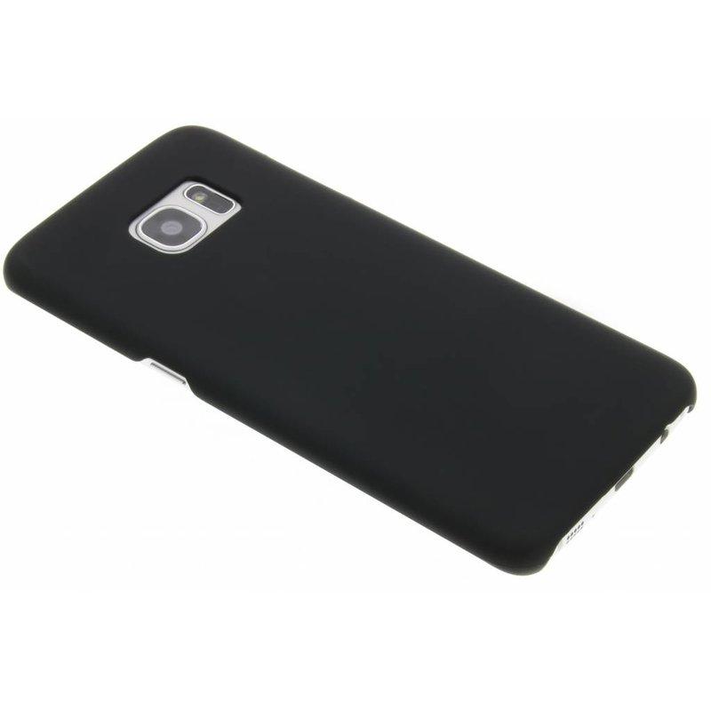 Zwart effen hardcase hoesje Samsung Galaxy S7 Edge
