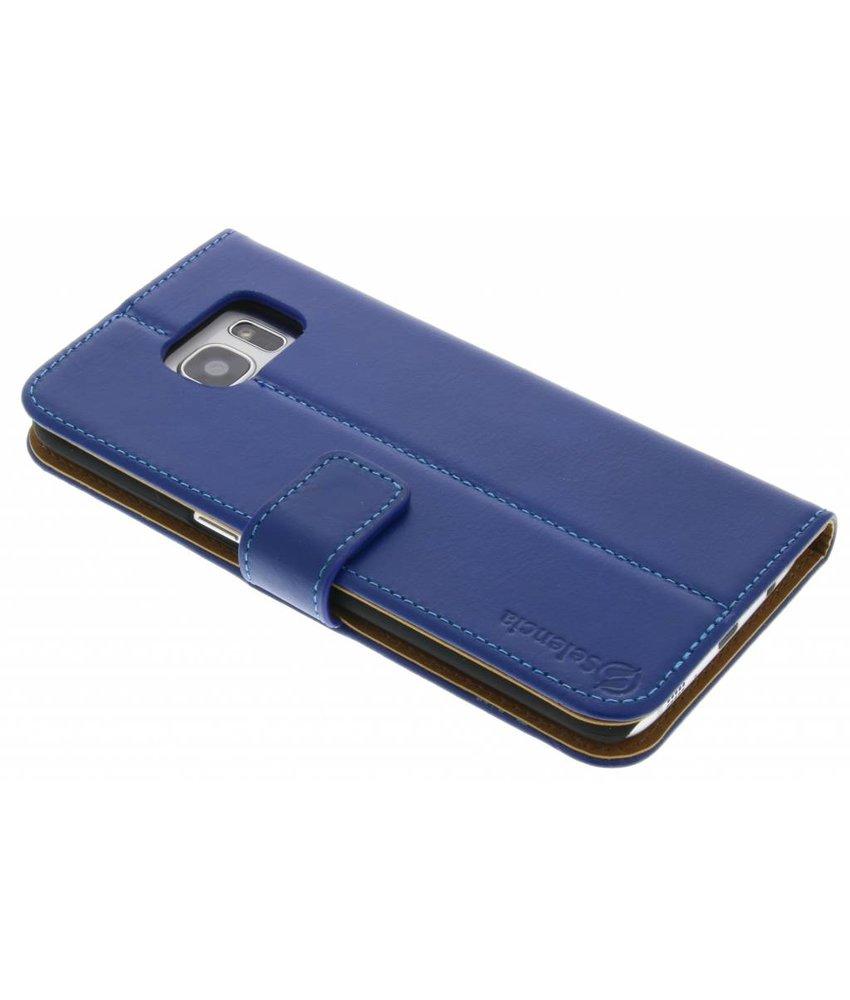 Selencia Luxe lederen booktype Samsung Galaxy S7 Edge