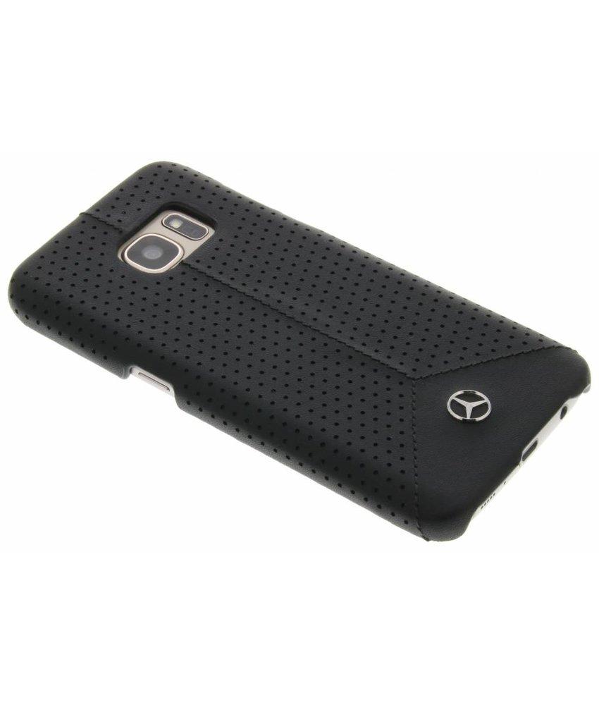 Mercedes-Benz Pure Line Leather hardcase Samsung Galaxy S7 - Zwart