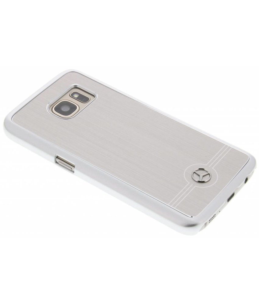 Mercedes-Benz Pure Line Aluminium Hard Case Samsung Galaxy S7 - Zilver