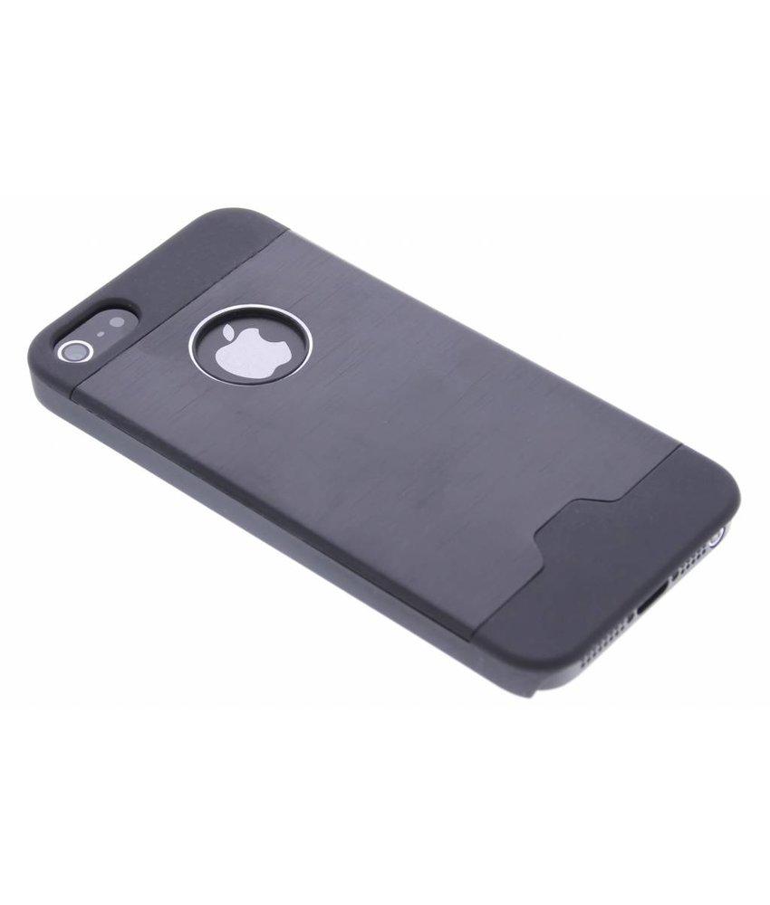 Brushed Aluminium hardcase hoesje iPhone 5 / 5s / SE