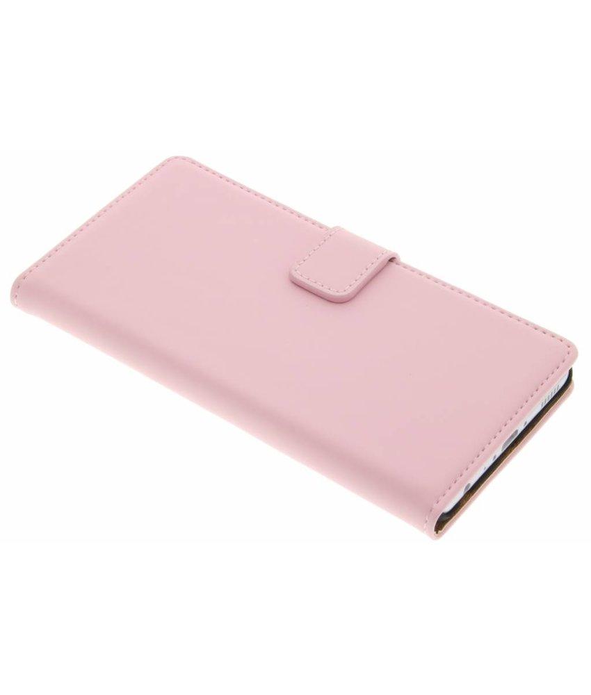 Selencia Luxe Book Case Huawei P9 - Poederroze