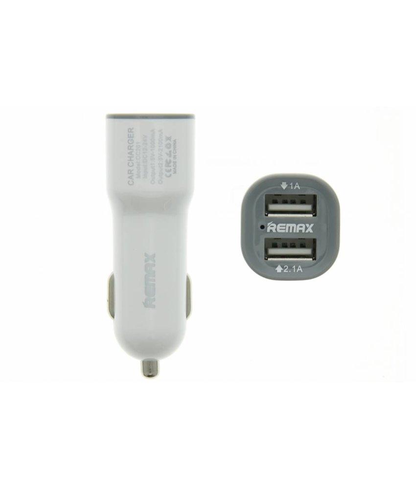 REMAX 2-Poorts Car Charger 2,1 ampère